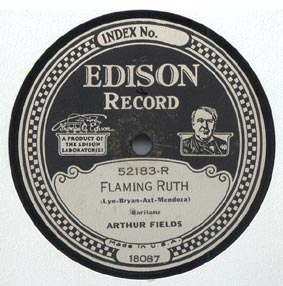 Arthur Fields -- Flaming Ruth