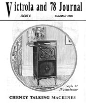 Victrola and 78 Journal